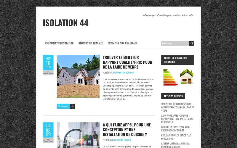 Isolation 44 - 44 techniques d'isolation pour améliorer votre confort
