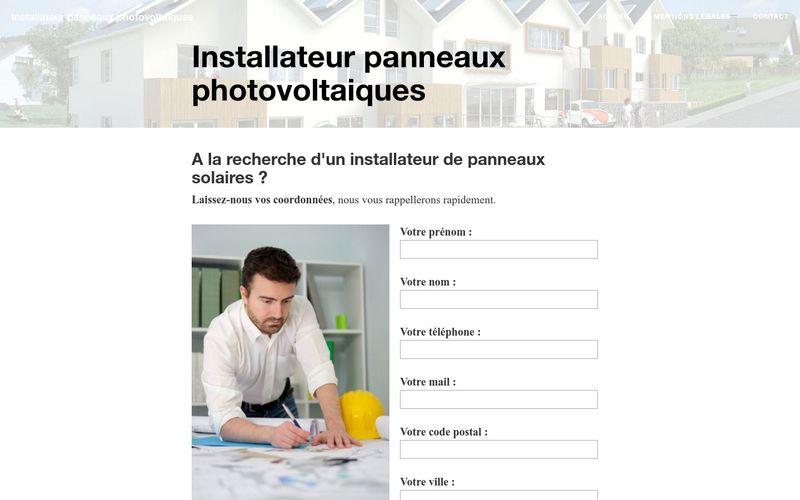 Faites appel à un installateur de panneaux solaires