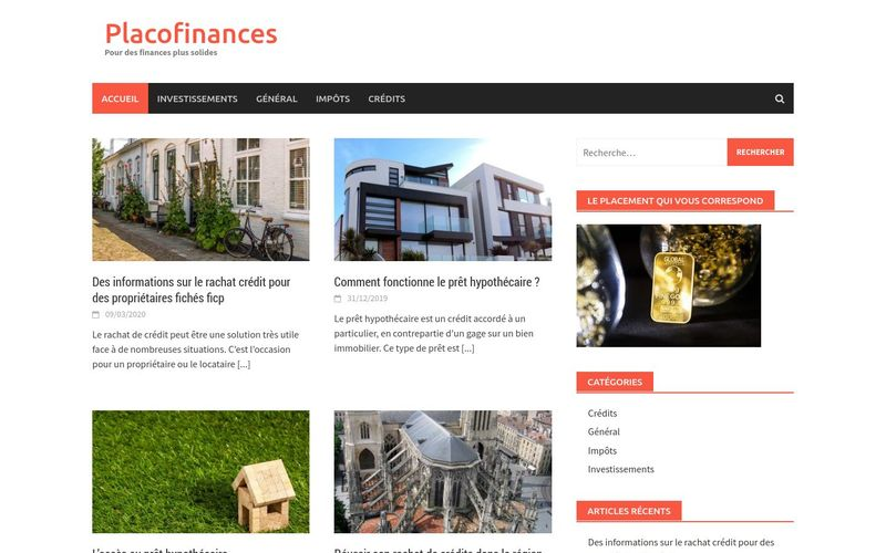 Placofinances - Pour des finances plus solides